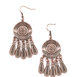 Whimsical Wind Chimes Copper