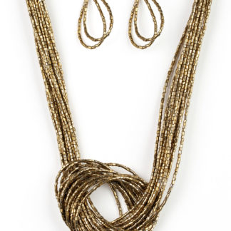 Knotted Knockout Brass